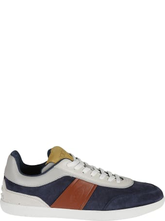 Tod's Logo Stamped Sneakers