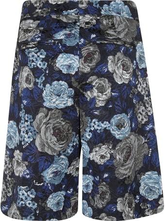 MSGM Floral Print Shorts