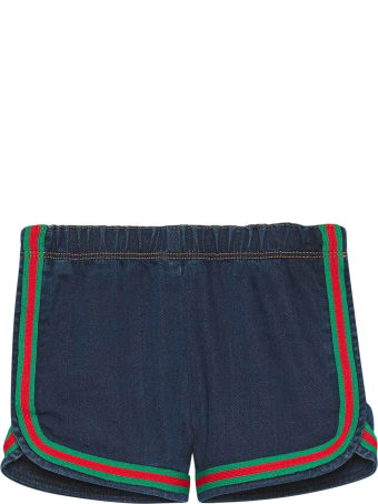 Gucci Shorts With Web Detail