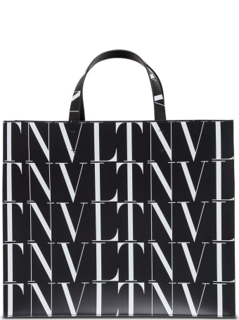 Valentino Garavani Leather Tote Handbag
