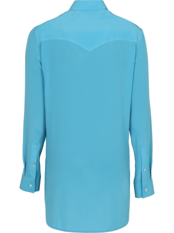 Golden Goose Long-sleeved Silk Shirt