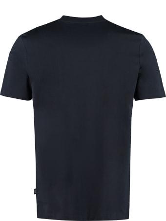 Hugo Boss Printed Cotton T-shirt