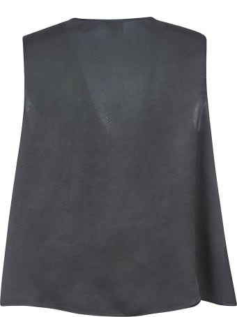 Aspesi V-neck Cropped Top