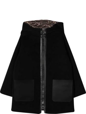 Fendi Black Coat