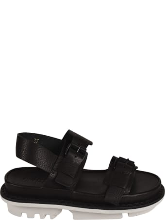 Trippen Double Side-buckled Strap Sandals