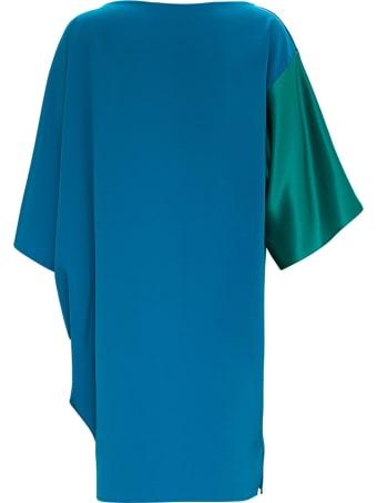 Gianluca Capannolo Geena Asymmetrical Bicolor Dress