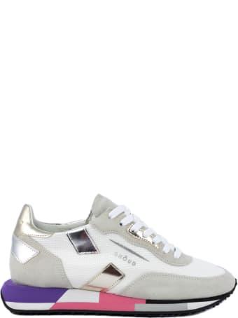 GHOUD Sneaker In Grey Suede