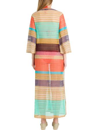 Missoni Multicolor Stripes Cover Up