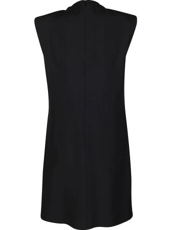 Versace Black Viscose Blend Dress