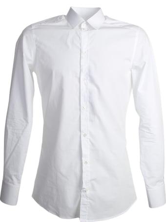 Dolce & Gabbana White Gold Fit Shirt