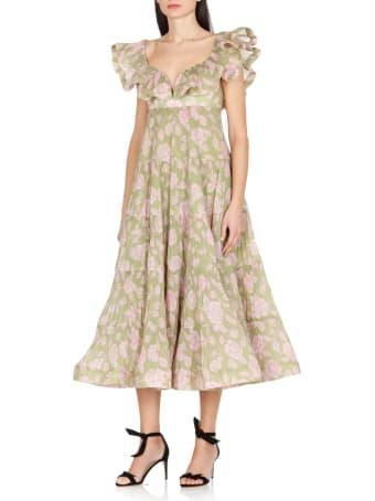 Zimmermann The Lovestruck Pleated Dress