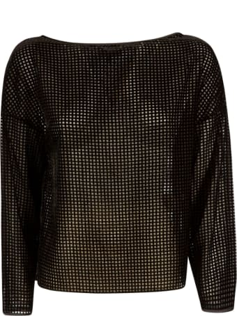 Emporio Armani Perforated Top