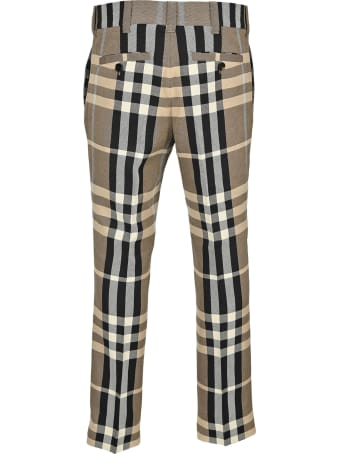 Burberry London Tartan Tailored Pants