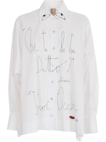 Antonio Marras L/s Shirt W/written