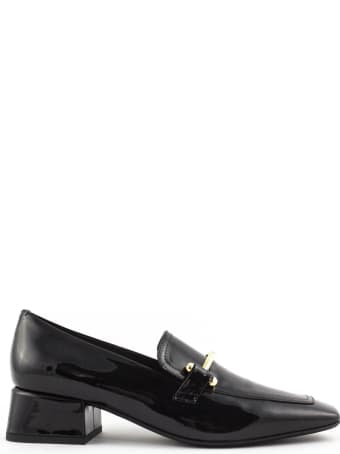 Fabio Rusconi Black Patent Loafer