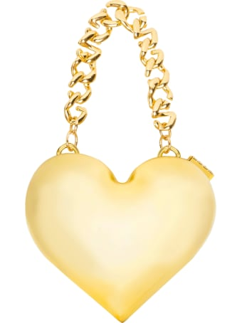 GCDS Heart Gold Bag