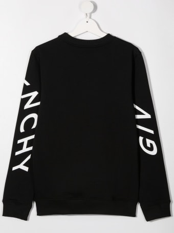 Givenchy Cotton Sweatshirt With Logo Print
