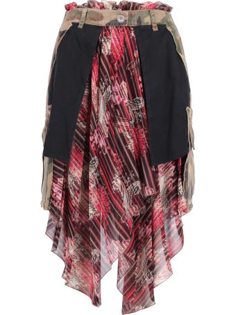 Ben Taverniti Unravel Project Unravel Project Polyester Skirt