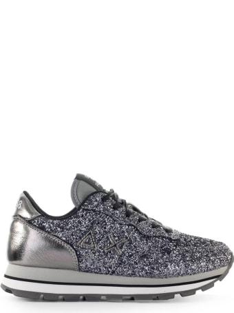 Sun 68 Sun68 Ally Silver Glitter Sneaker
