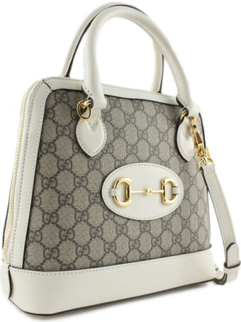 Gucci White Gucci 1955 Horsebit