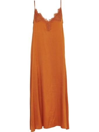 Pink Memories Orange Petticoat Dress