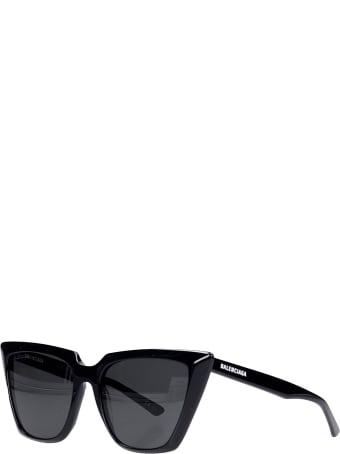 Balenciaga Sunglasses In Black Acrylic