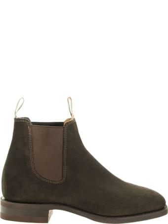 R.M.Williams Craftsman Boots Suede