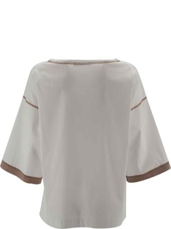D.Exterior Cotton Blouse