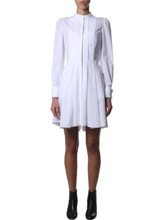 Alexander McQueen Short Cotton Poplin Dress