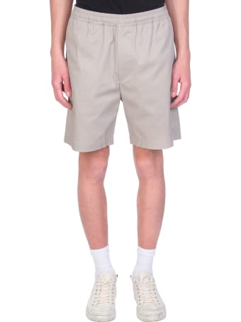 Mauro Gasperi Shorts In Beige Cotton