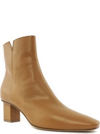 Roberto Festa Luna Brown Leather Ankle Boot
