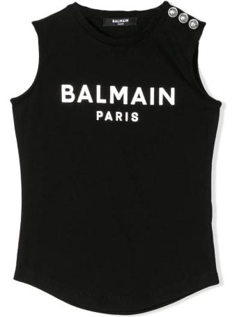 Balmain Tank Top With Buttons