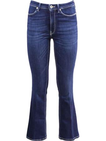Dondup Blue Denim Cotton Jeans