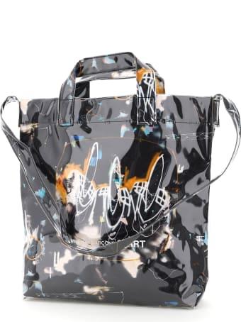 Comme des Garçons Shirt Tote Bag Futura Print