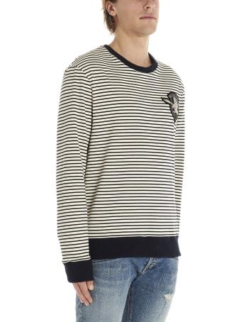 Balmain 'badge Stripes' Sweater