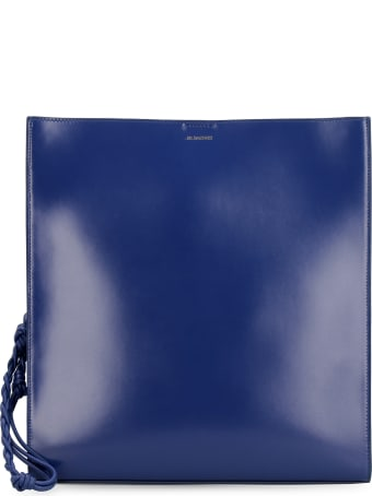 Jil Sander Tangle Leather Tote