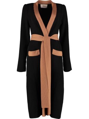 La DoubleJ Nonna Long Wool Blend Cardigan