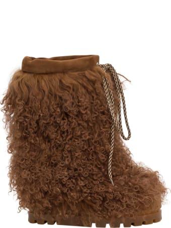 Casadei Furry Booties