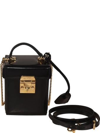 Mark Cross Grace Cube Shoulder Bag