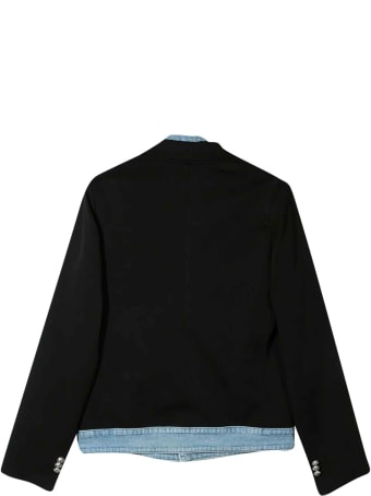 Balmain Black Teen Blazer