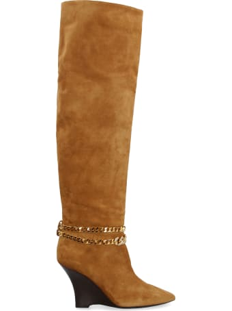 Alevì Kiara Suede Knee High Boots