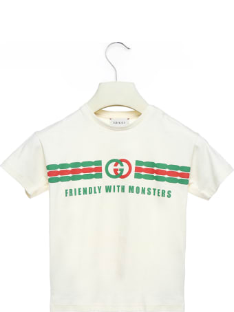 Gucci 'friendly With Monsters' T-shirt