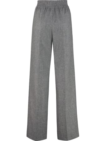 Agnona Wide-leg Trousers