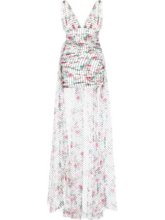 Philosophy di Lorenzo Serafini Chiffon Mini Dress With Train