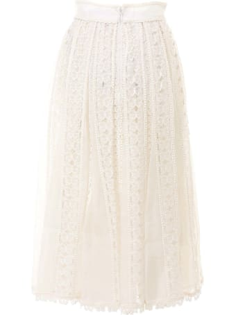 Zimmermann Super Eight Butterfly Skirt
