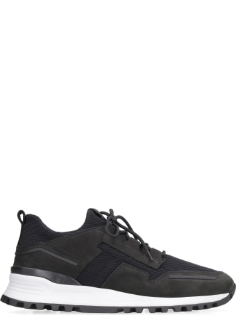 Tod's Techno-fabric And Leather Sneakers
