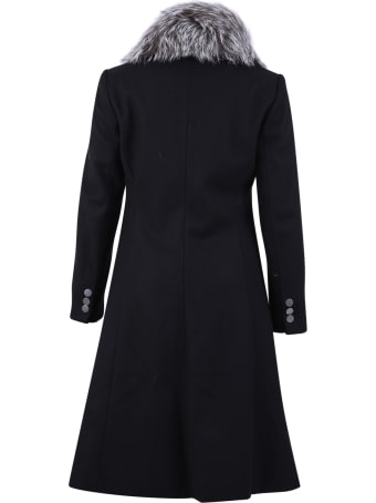 Alice + Olivia Virgin Wool Blend Coat