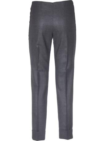 Peserico Lamè Grey Trousers