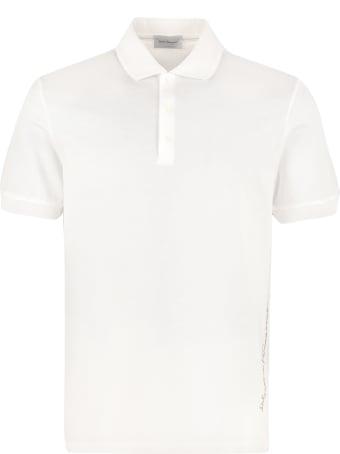 Salvatore Ferragamo Cotton Piqué Polo Shirt
