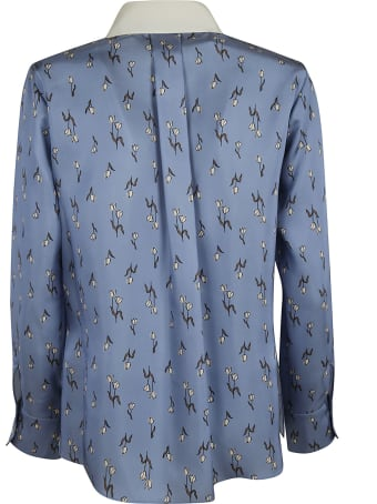Dice Kayek Bee Patched Shirt